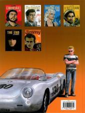 Verso de Rebelles -6- Jimmy - James Dean