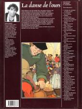 Verso de Contes et sortilèges du Moyen Âge - La danse de l'ours