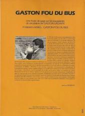 Verso de Gaston (Hors-série) -FB20- Fou du bus - TRAM