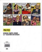 Verso de Les malheurs de Marine - Une biographie satirique de Marine Le Pen