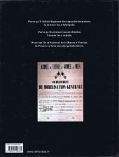 Verso de Les sentinelles (Breccia/Dorison) -1- Chapitre premier : Juillet-août 1914 Les moissons d'acier