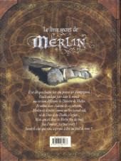 Verso de Le livre secret de Merlin - Tome 1