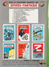 Verso de Spirou et Fantasio -3b1964- Les chapeaux noirs
