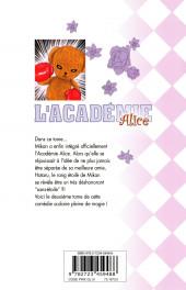 Verso de L'académie Alice -2- Tome 2