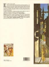 Verso de Max Fridman (Les aventures de) -2- La porte d'Orient