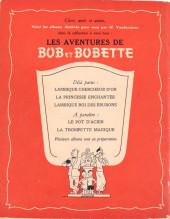 Verso de Bob et Bobette -3- Lambique roi des éburons