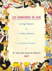 Verso de Samedi Jeunesse -80- Bison noir (Corentin)