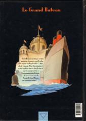 Verso de Le fond du monde -5- Le grand bateau