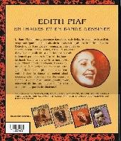 Verso de En images et en bande dessinée -5- Édith Piaf