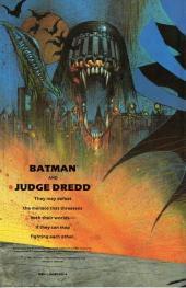 Verso de Batman/Judge Dredd - Judgment on Gotham
