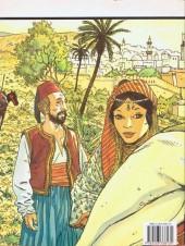 Verso de Carnets d'Orient - Tome 1