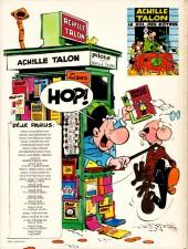 Verso de Achille Talon -1b81- Les idées d'Achille Talon cerveau-choc !