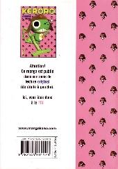 Verso de Sergent Keroro -2- Tome 2