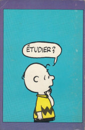 Verso de Peanuts -8- (HRW) -10- Tu te crois malin, Charlie Brown