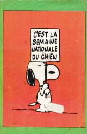 Verso de Peanuts -8- (HRW) -7- Du calme, Charlie Brown