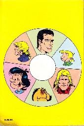 Verso de (Recueil) Tintin (Pocket Sélection) -30- Toutes vos vedettes dans des récits inédits
