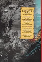 Verso de (AUT) Hergé -116- Jules Verne & Hergé - D'un mythe à l'autre