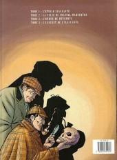Verso de Sherlock Holmes (Croquet/Bonte) -4- Le secret de l'île d'Uffa