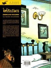 Verso de Sherlock Holmes (CLE) -5- La bande mouchetée