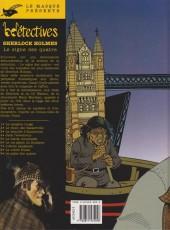 Verso de Sherlock Holmes (CLE) -9- Le signe des Quatre