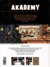 Verso de Akademy -3- Quartier libre