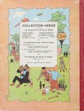 Verso de Tintin (Historique) -10B09- L'étoile mystérieuse