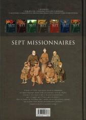 Verso de Sept -4- Sept missionnaires