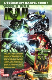 Verso de Marvel Heroes (Marvel France - 2007) -5- A la guerre comme à la guerre