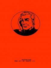 Verso de Alan Ford (Sagédition) -12- L'énigme de la balle qui fait