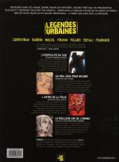Verso de Les véritables légendes urbaines -2- Tome 2
