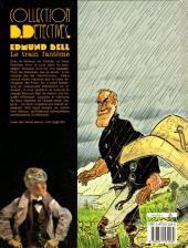 Verso de Edmund Bell (Les enquêtes d') -5- Le train fantôme