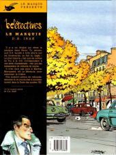 Verso de Le marquis (Delvaux) -2- DS Irae