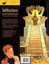 Verso de Rouletabille (CLE) -6- L'épouse du soleil