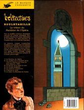 Verso de Rouletabille (CLE) -7- Le trésor du fantôme de l'opéra
