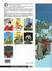 Verso de Les 7 Vies de l'Épervier -7- La marque du Condor