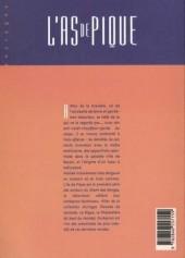 Verso de L'as de pique -INT- Édition intégrale