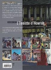 Verso de Stéphane Clément -6b- L'étreinte d'Howrah