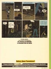 Verso de Stéphane Clément -1b1984- Le guêpier