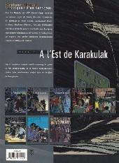 Verso de Stéphane Clément -2b- À l'est de Karakulak