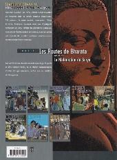 Verso de Stéphane Clément -4b- Les routes de Bharata+La malédiction de Surya