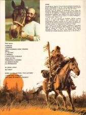 Verso de Buddy Longway -7a83- L'hiver des chevaux