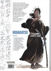 Verso de Kogaratsu -11- Fournaise