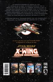 Verso de Star Wars - X-Wing Rogue Squadron (Delcourt) -4- Le Dossier fantôme