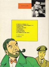 Verso de Blake et Mortimer (Historique) -5d78- La Marque Jaune