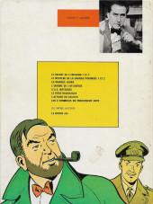 Verso de Blake et Mortimer (Historique) -2d77'- Le Secret de l'Espadon 2