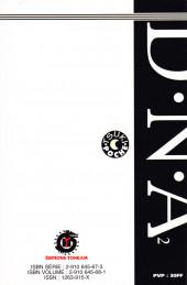 Verso de D.N.A² (Dokokade Nakushita Aitsuno Aitsu......) -1- Dossier N° 1 < Origine >