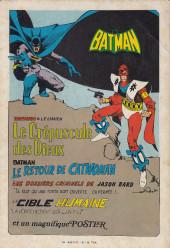 Verso de Batman Bimestriel (Sagédition) -6- Le crépuscule des dieux