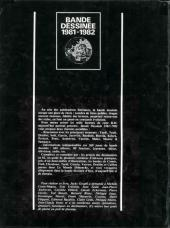 Verso de (DOC) Études et essais divers - Bande dessinée 1981-1982