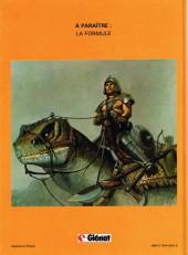 Verso de Le mercenaire -1- Le feu sacré
