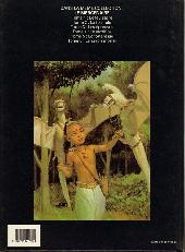 Verso de Le mercenaire -6- Le rayon mortel